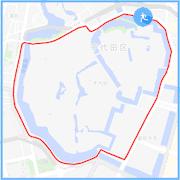 皇居ラン約5キロコース:竹橋駅付近