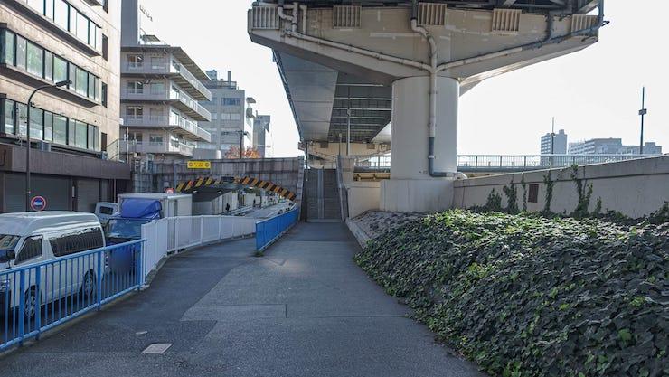 蔵前橋階段