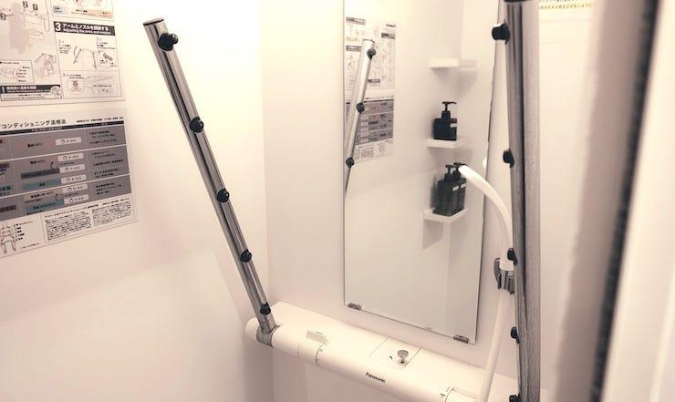 局所浴シャワー