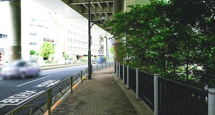 赤坂見附付近脇道