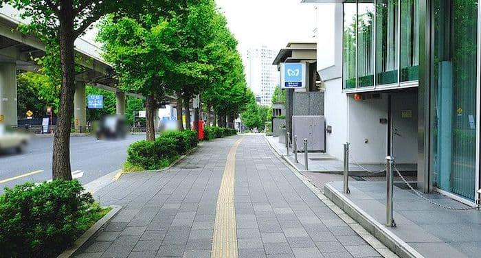 永田町駅付近