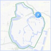 皇居ラン約6キロコース:平川門付近