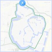 皇居ラン約6キロコース:九段下交差点