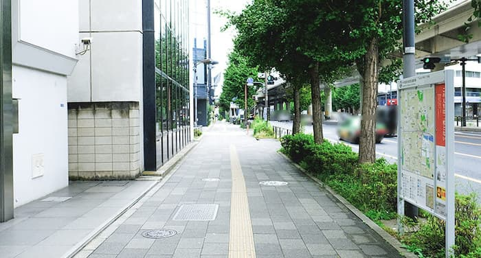 永田町付近