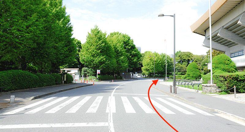 7.8kmの皇居ラン アレンジランニングコースガイド 日本武道館
