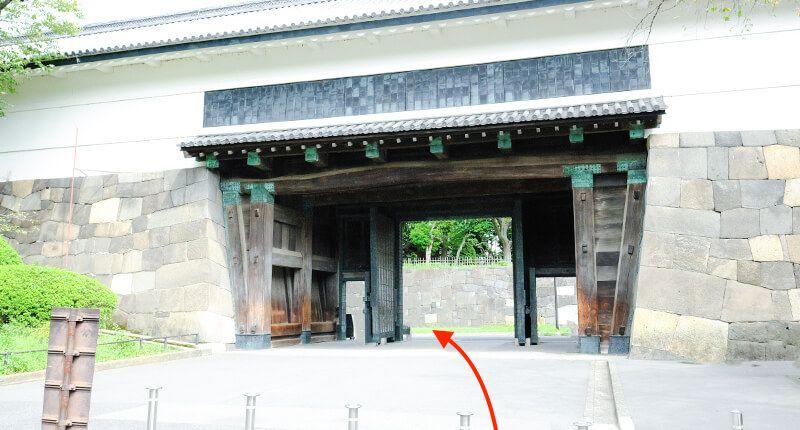 7.8kmの皇居ラン アレンジランニングコースガイド 田安門