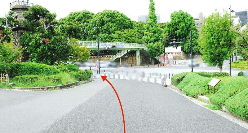 7.8kmの皇居ラン アレンジランニングコースガイド 九段坂へ