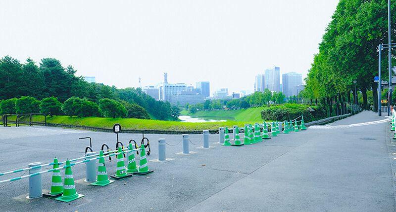 7.8kmの皇居ランニングコースガイド 半蔵門