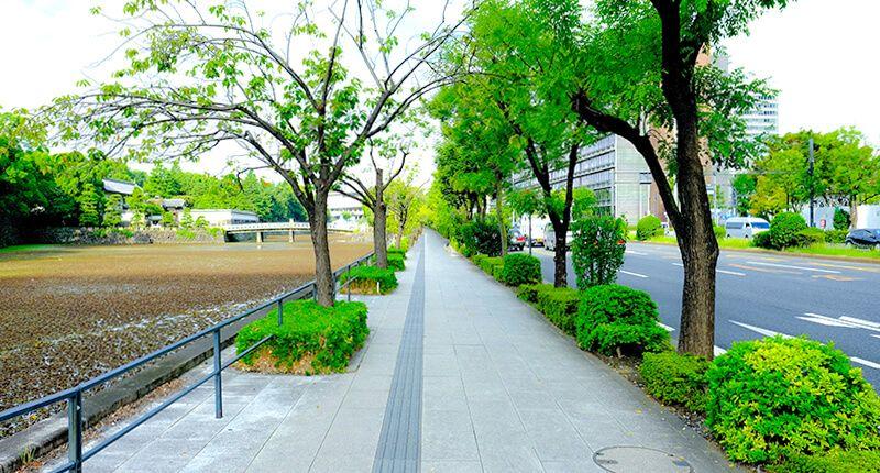 7.8kmの皇居ランニングコースガイド 平川門交差点
