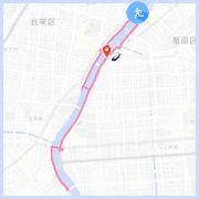 隅田川ラン10キロコース:桜橋